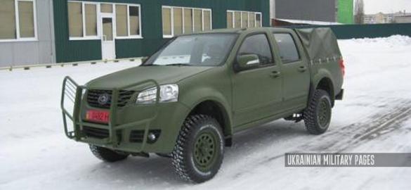 «Богдан» пропонує армійський позашляховик Богдан-2351 для заміни УАЗів