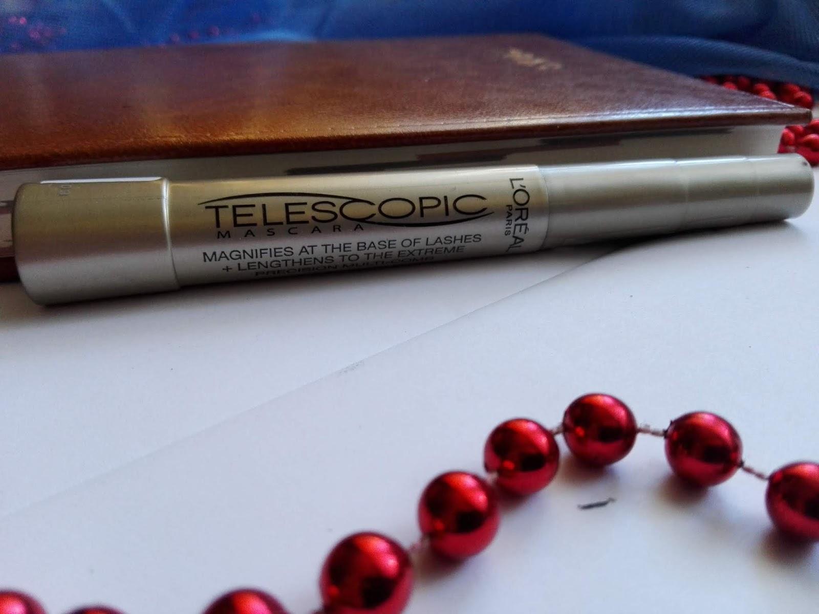 Czarny tusz do rzęs L'Oréal Paris Telescopic -  Hit czy kit?