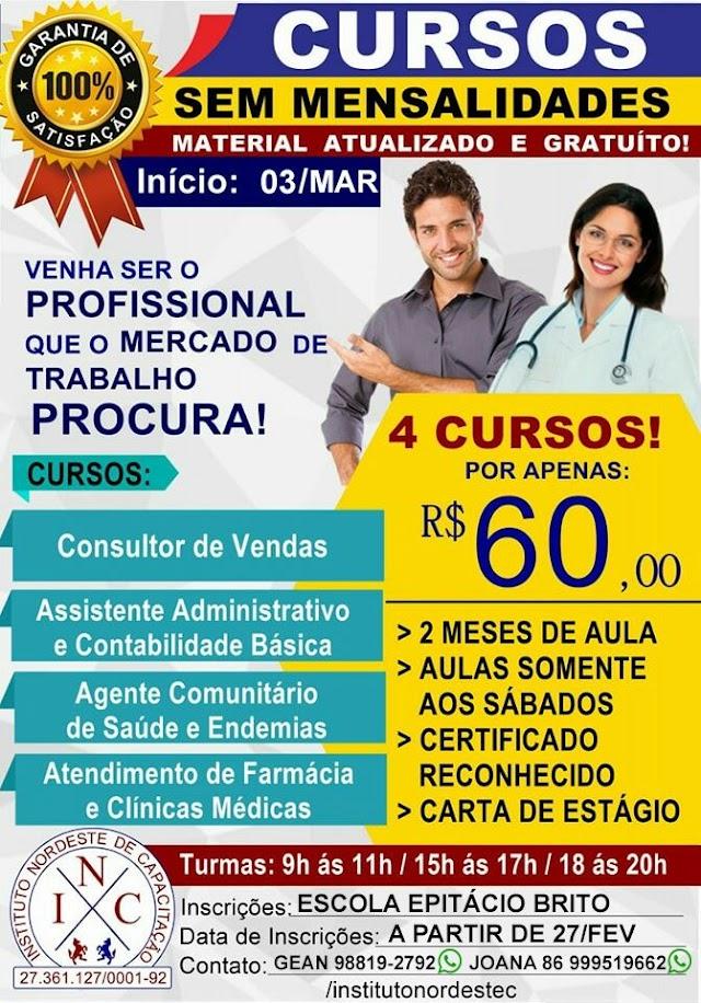 Se prepare para o mercado de trabalho: Faça 4 cursos por apenas R$60