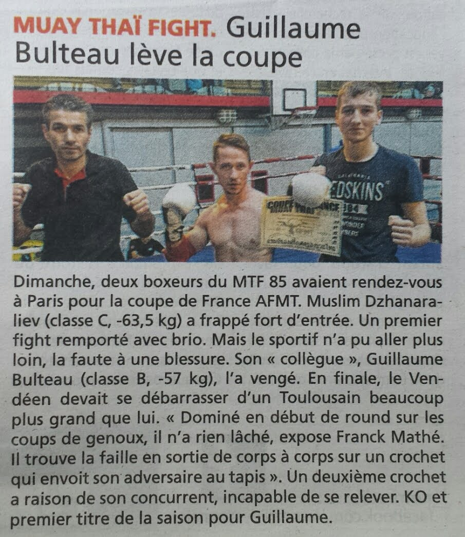 ARTICLE DU JOURNAL DU PAYS YONNAIS DU 29/10/15