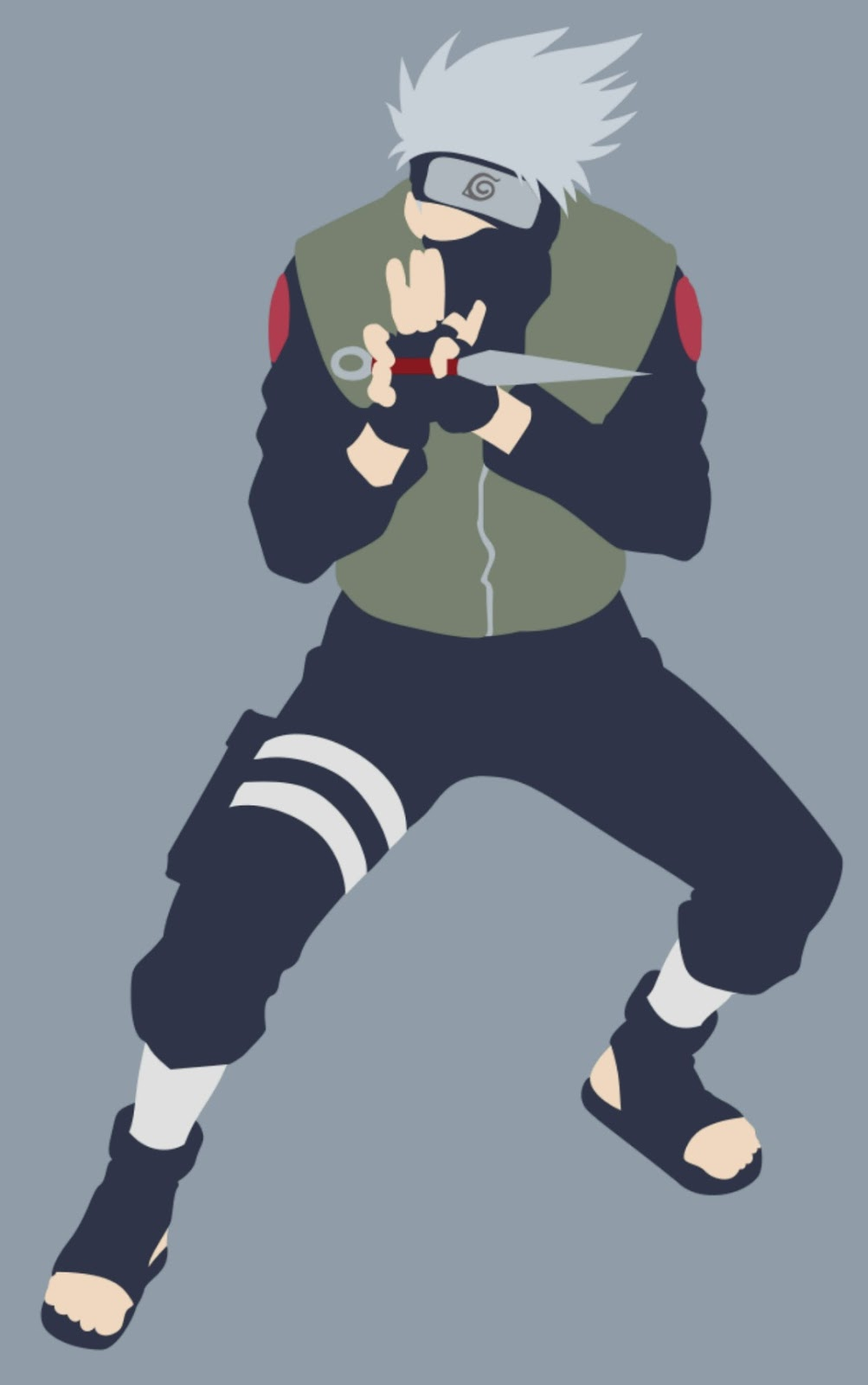 1 Download Wallpaper hatake kakashi vector untuk Android dan Whatsapp