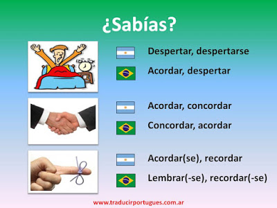 falsos amigos, portugués, español
