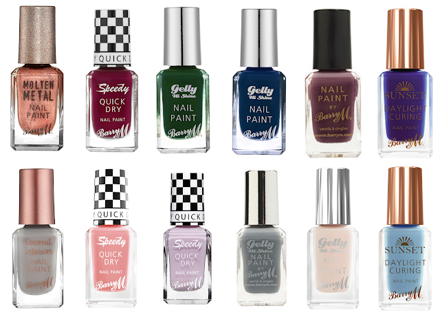 What Cat Says - Wishlist | Barry M Nails for Autumn/Winter