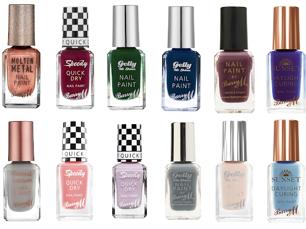 Wishlist | Barry M Nails for Autumn/Winter