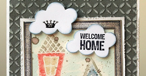 Layers Of Ink: Welcome Home Polaroid Frame