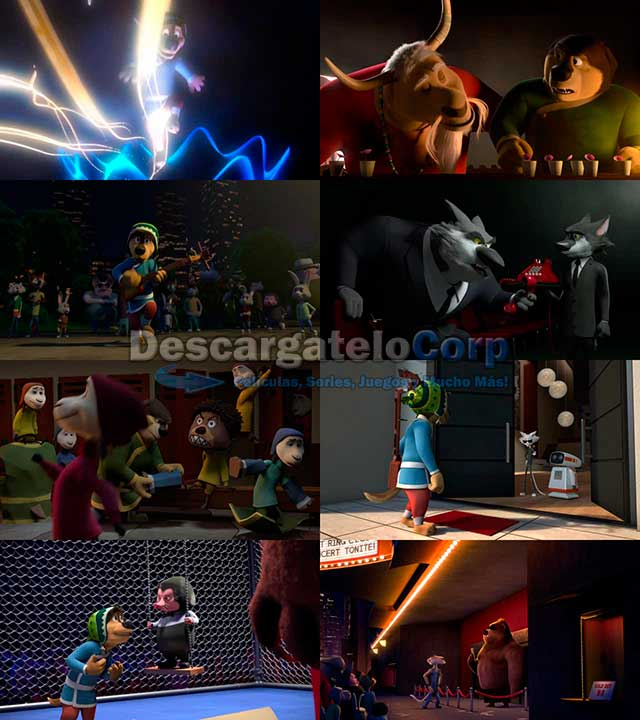 Rock Dog (2016) DVDRip Español Latino