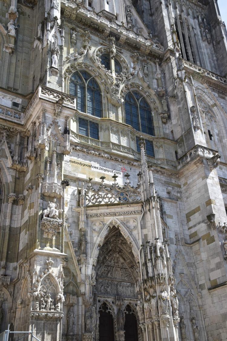 Regensburg St. Peters Cathedral in Regensburg, Germany | Ms. Toody Goo Shoes #Regensburgcathedral #regensburg #germany #danuberivercruise