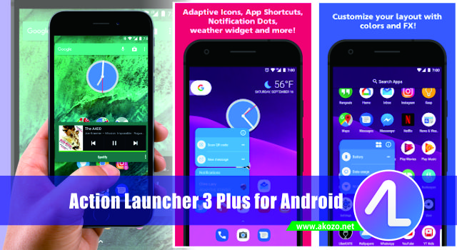 Download Action Launcher 3 Plus Oreo Pixel Terbaru