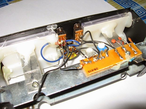 Modif SWR maldol HS-260S Menjadi Daiwa N-800