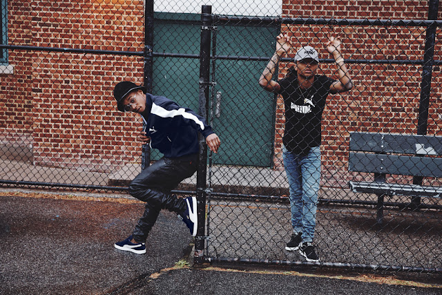 Rae Sremmurd x Puma melbourne central australia hip hop rappers Swae Lee and Slim Jxmmi