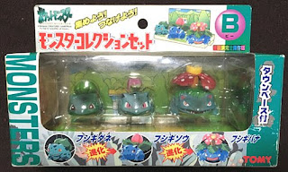 Pokemon figure Tomy Monster Collection Set B