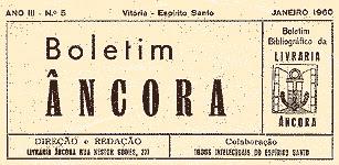 Cabeçalho do 'Boletim Âncora'.