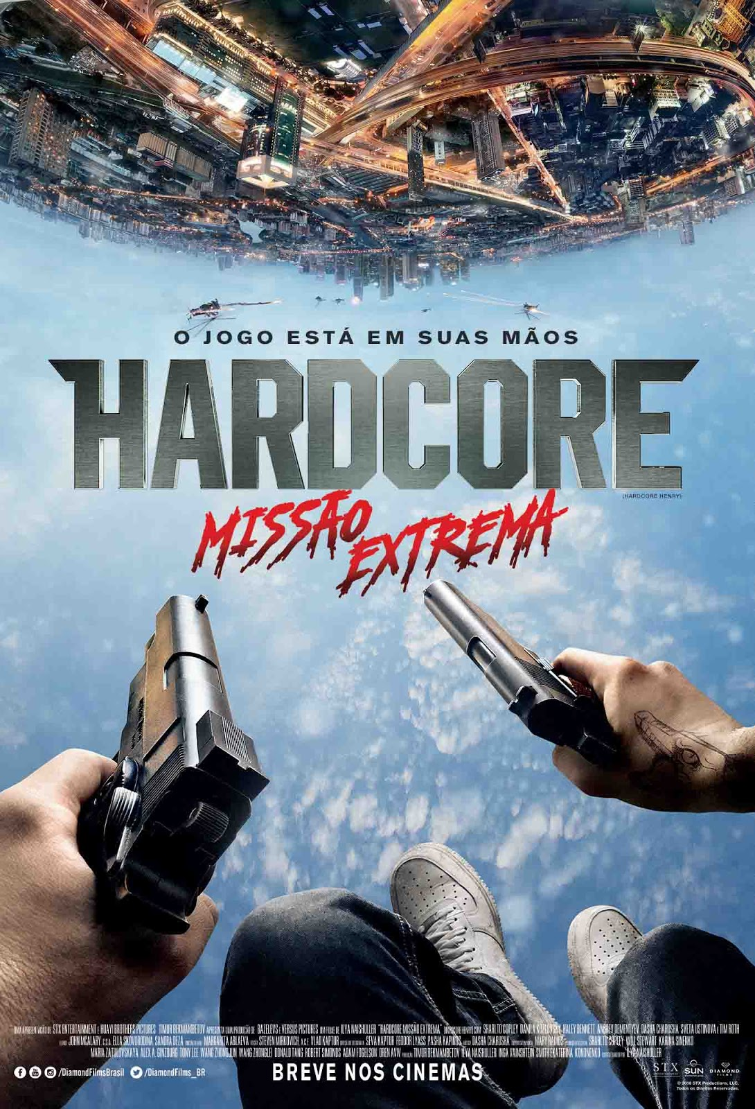 Hardcore: Missão Extrema Torrent – BluRay 720p e 1080p Dual Áudio (2016)