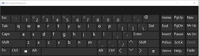 On-screen Keyboard (OSK)