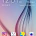 Mengaktifkan Tema Stock ROM Lollipop Dan S6 Weather Pada Galaxy S4