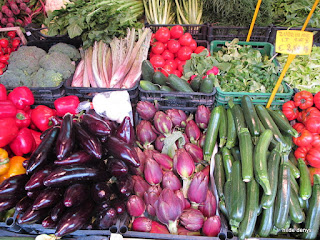 fresh vegetables in Venice