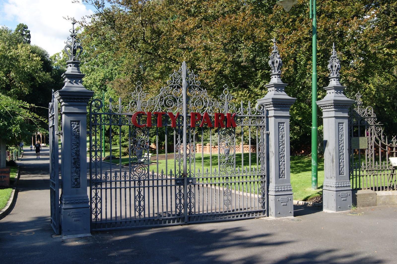 On The Convict Trail: City Park, Launceston