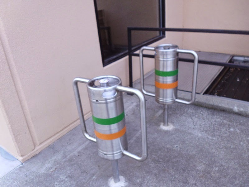 Keg bike lock