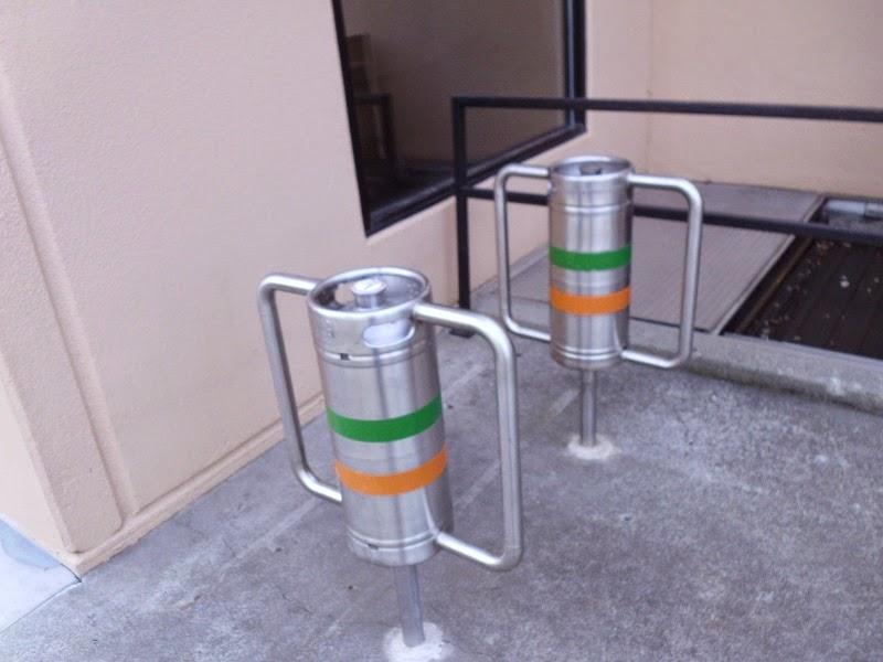 Keg bike lock