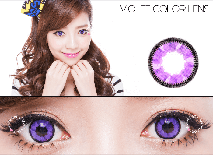 vassen cloud nine violet circle lenses