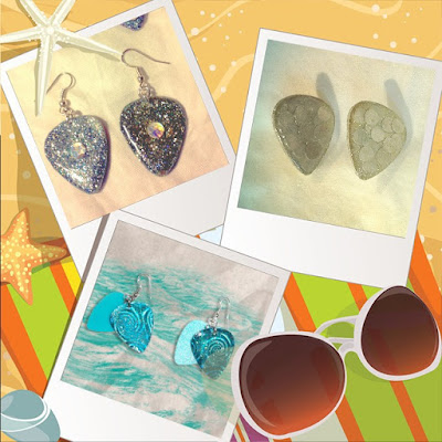 Summertime Style with Guitar Pick Jewelry