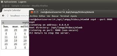 Ejecutar ASP en Linux