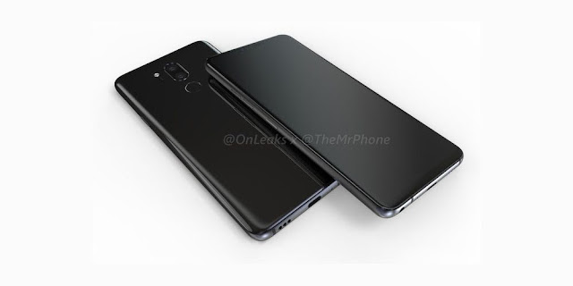 LG G7 Render Reveals iPhone X Style 'Notch', Dual Camera And A Side Mounted Power Button