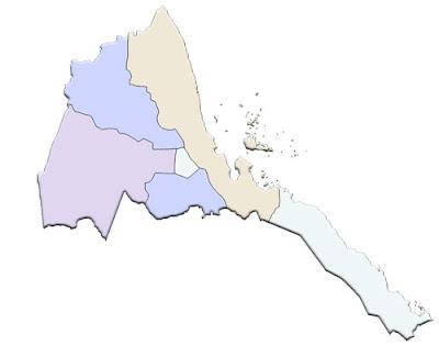 image: Blank color Eritrea Map