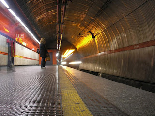 Roma, aria avvelenata in metro