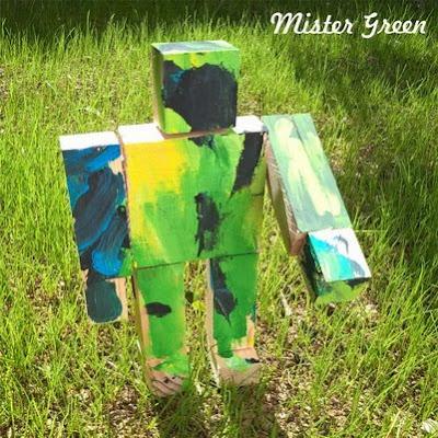robottini in legno