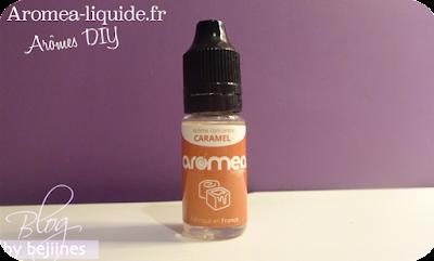 Aromea - Fabrication de e-liquides caramel