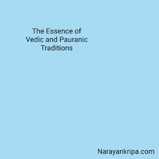 Text Image: Essence of Vedic and Pauranic Traditions