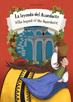 Legend of Segovia's Aqueduct - Maria Albarran Illustration - Folktale