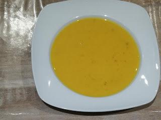 Menu Halloween 2018 soupe potiron