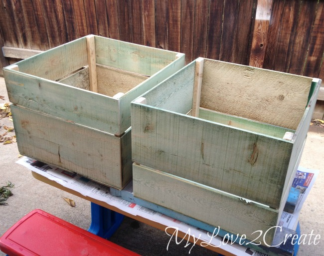 MyLove2Create, Large DIY Storage Crates, crates ready for paint or stain