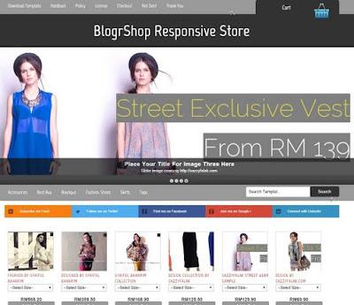 BlogrShop Ecommerce blogger tienda online gratis 2018 2019 2020