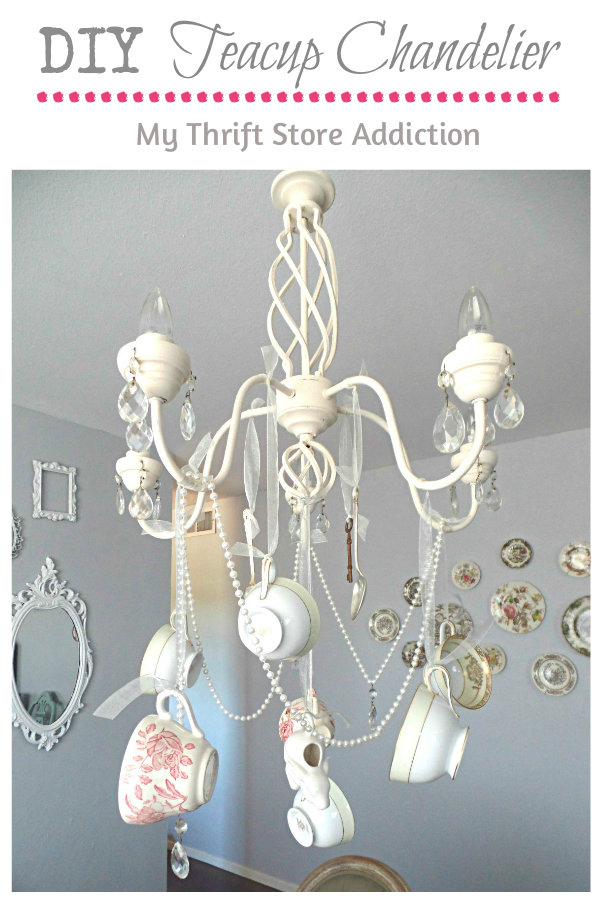 chandelier to and how cup decorative recycle recycled teacups teacup lamps saucer