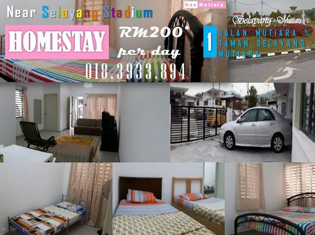 Homestay di Selayang Selangor