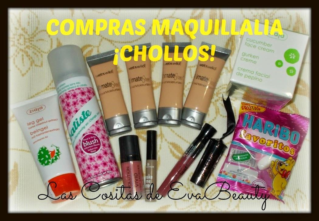 Compras Maquillalia ¡Chollos! (Primera Parte)
