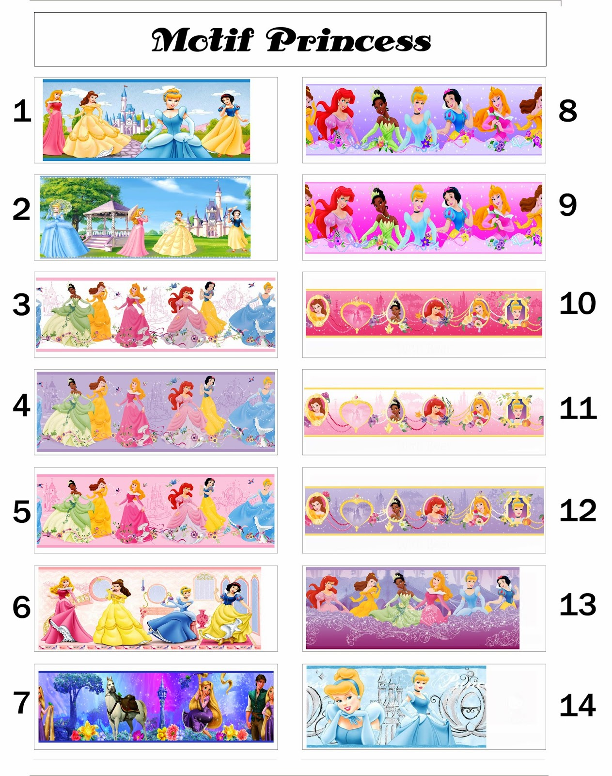 85 Gambar Wallpaper Dinding Princess