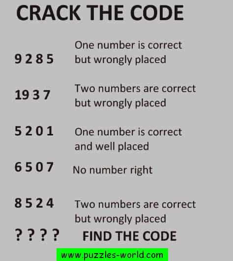 Crack the Code 9285