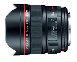 Canon EF 14mm f/2.8L II Lens