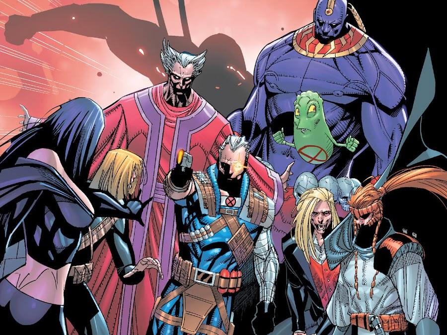 external x-men marvel comics