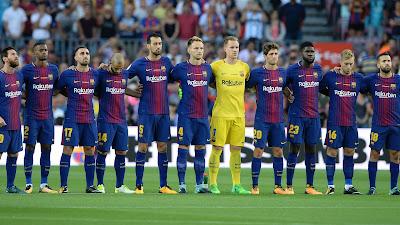 موعد مباراة برشلونة وديبورتيفو لاكرونيا الأحد 29-4-2018 ضمن الدوري الإسباني والقنوات الناقلة