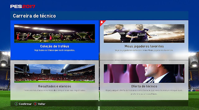 PES 2017 New Menu Graphic by PES EVOLUTION HD