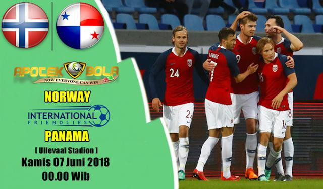 Prediksi Norway vs Panama 7 Juni 2018