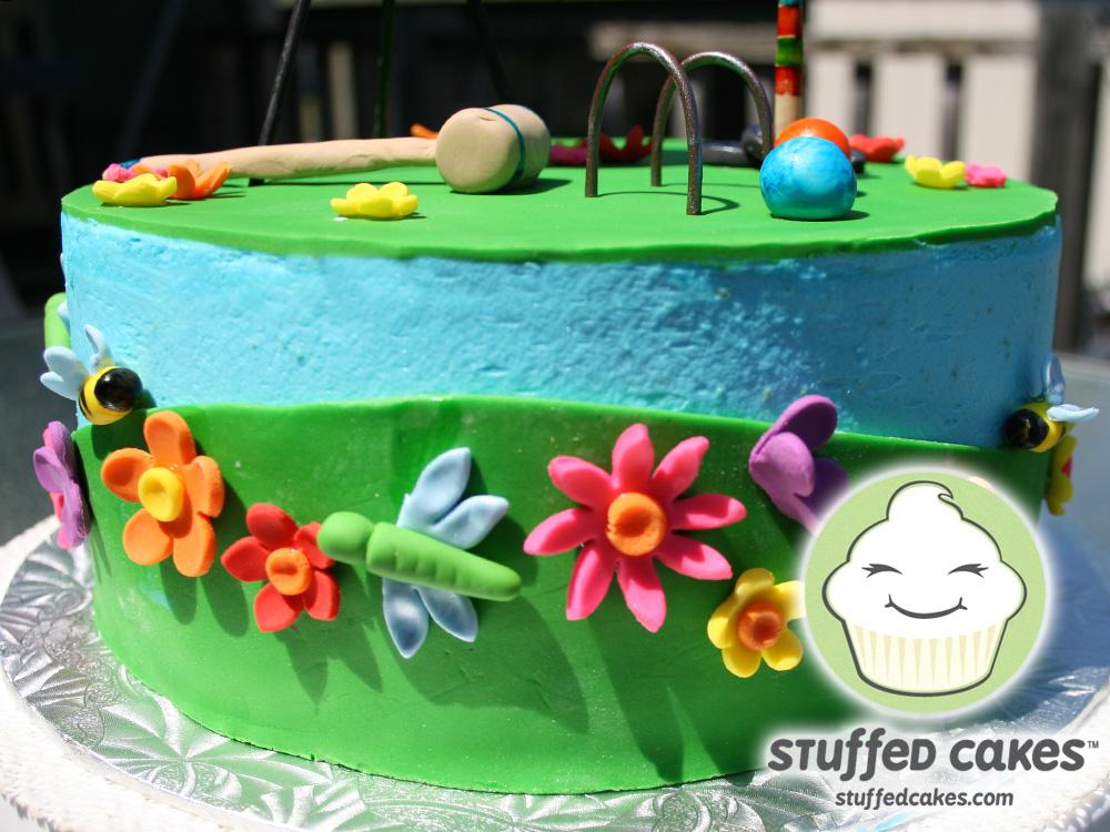 Stuffed Cakes Summer Bbq Cake