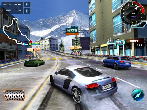 اصدار جديد من لعبة السباقات الممتعه Asphalt 6: Adrenaline HD v1.1.2 اصدار مسجل