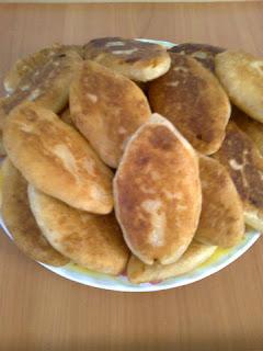 Быстрые пирожки с картошкой