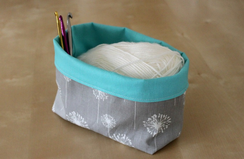 Fabric Storage Basket Sew Delicious